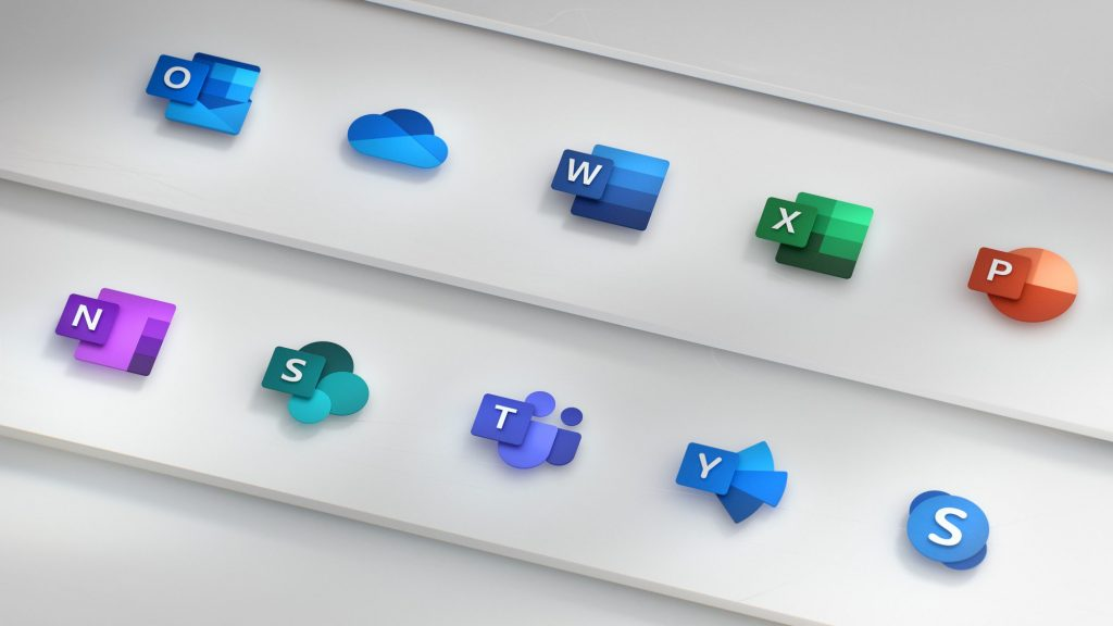 Office 365 iconen