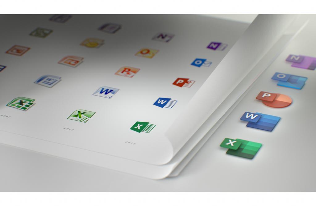 nieuwe iconen office 365